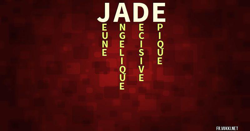 Signification Du Prénom Jade Que Signifie Ton Prénom